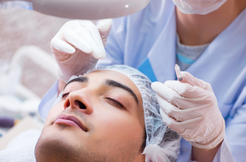 Guys Are Getting Botox and Fillers