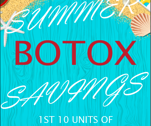 Summer Botox Savings 2018